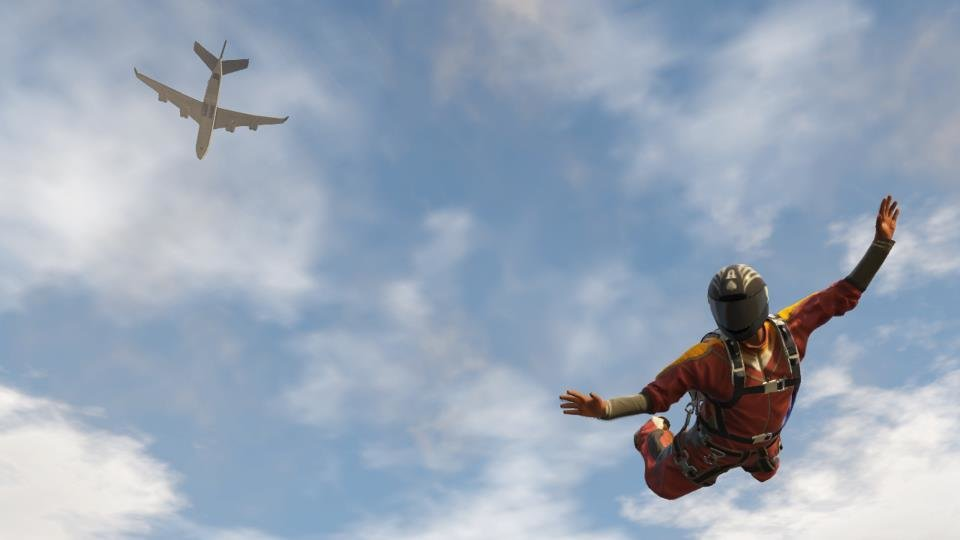 Let's fly : New  GTA  V screenshot