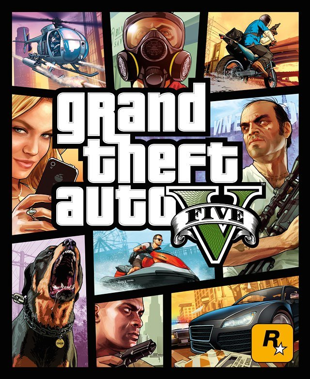GTA V official cover