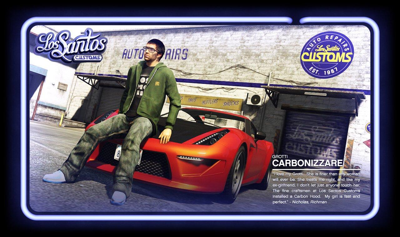 GTA V: Vehicular Customization Shops