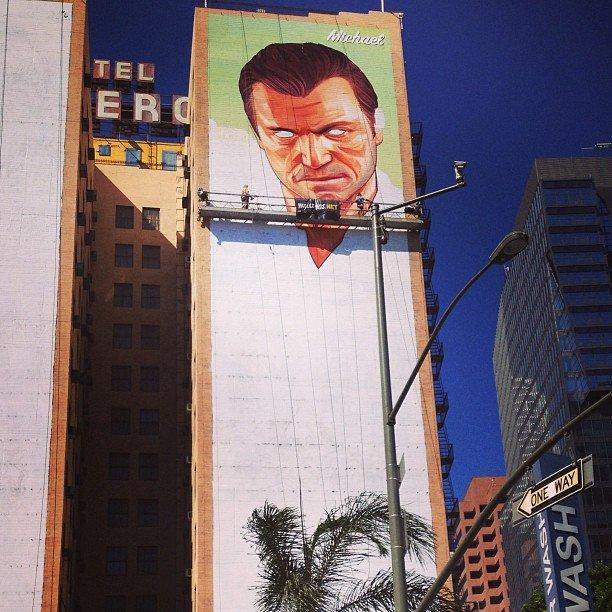 Michael on the Hotel Figueroa in LA