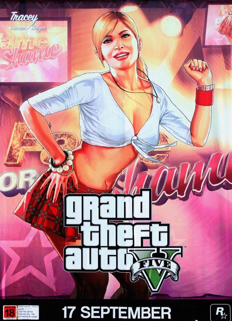 New GTA V artworks in New Zealand