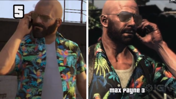Play as Max Payne