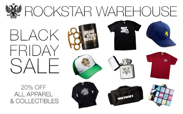 The Rockstar Warehouse Black Friday Sale