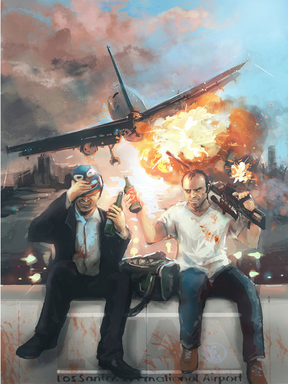 Fan Art & Pics: The GTAV Art